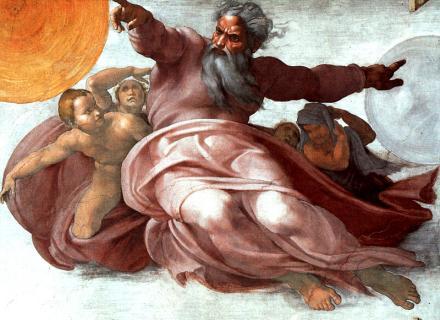 """נתניהו התייחס ליריביו כ""""תחלואה"""", והם ענו God-lights-michelangelo"""